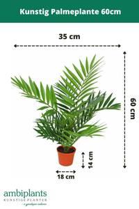 Bilde av Kunstig Palmeplante 60cm