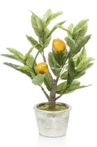 Bilde av Kunstig Sitronplante i Potte 45cm