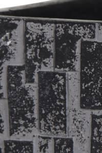 Bilde av Capi Indoor Steinpotte Kube Sort 15cm